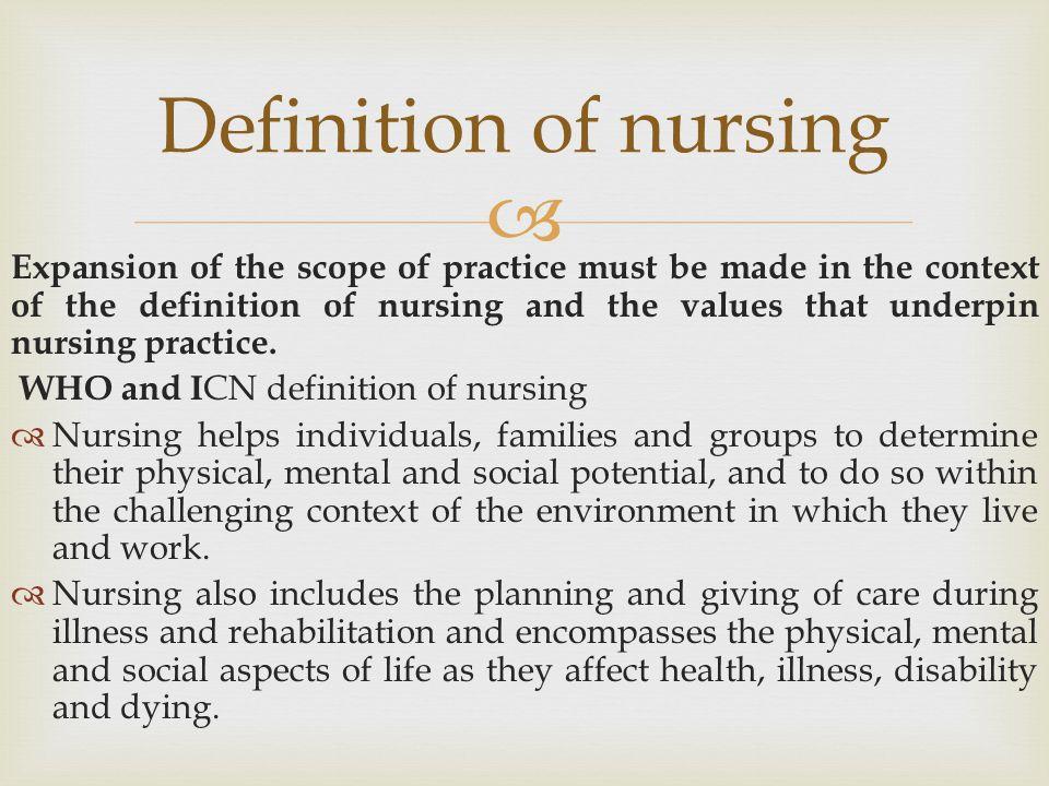 The scope of nursing practice - ppt video online download