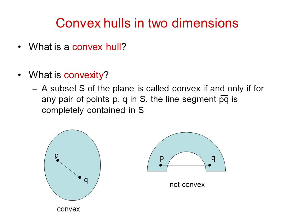 Computing Convex Hulls CLRS ppt video online download