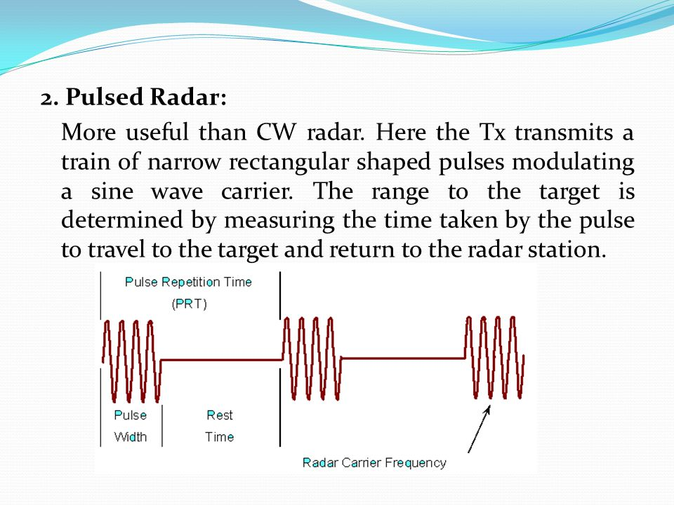 RADAR  - ppt video online download