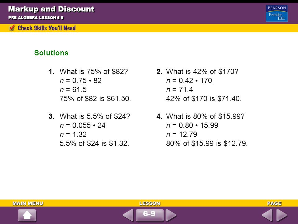Write An Equation And Solve Round To Hundredths As Needed