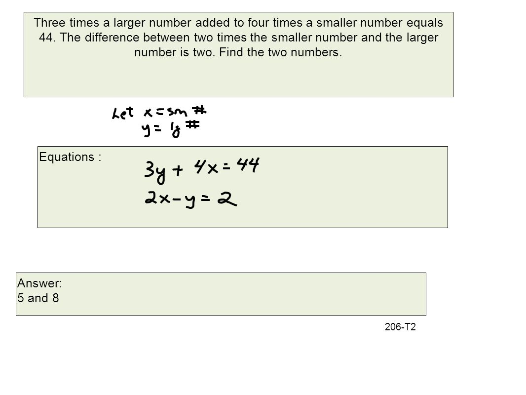 find the difference between two numbers