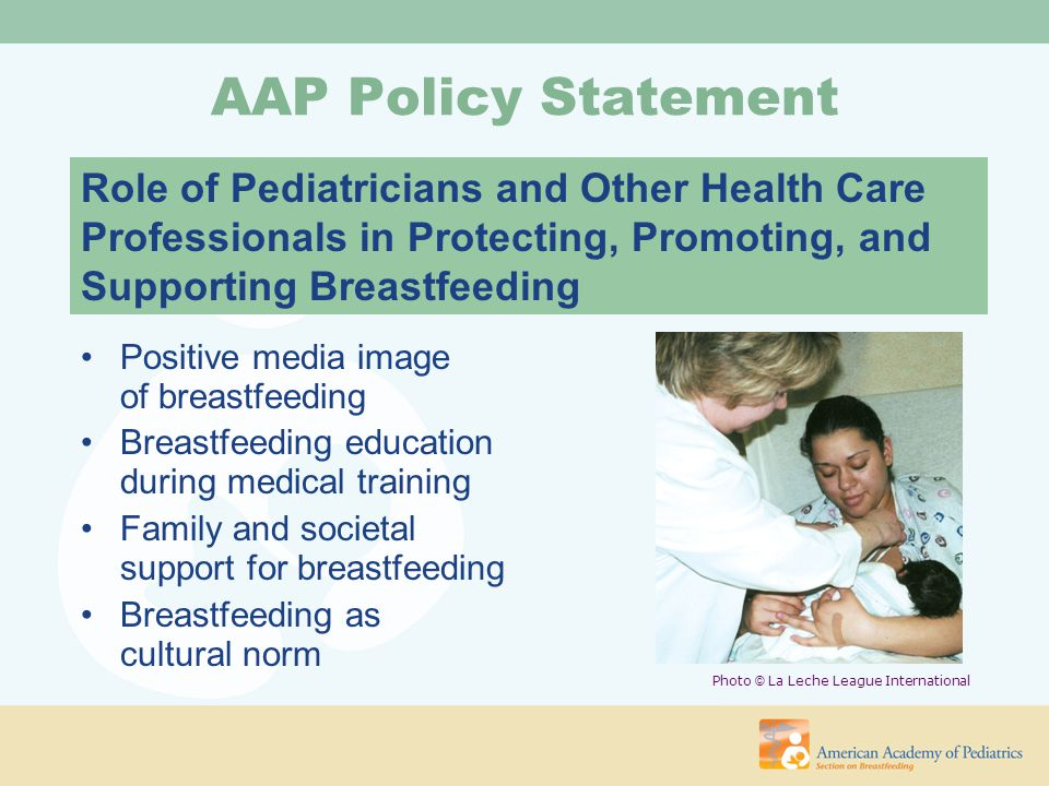 Role of Pediatricians in The Promotion of Breastfeeding: during Pregnancy