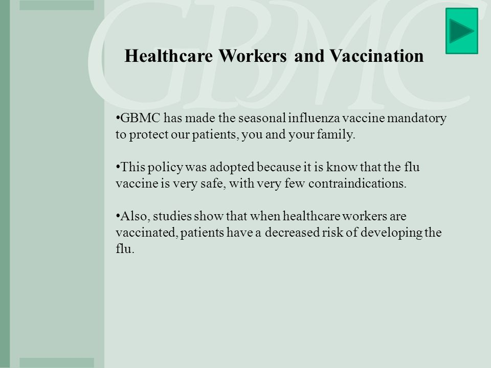 Healthcare Workers and Vaccination