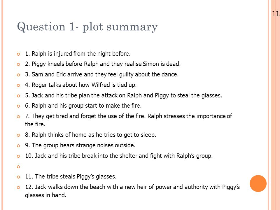 Lord Of The Flies Chapter 10 Review Ppt Video Online Download