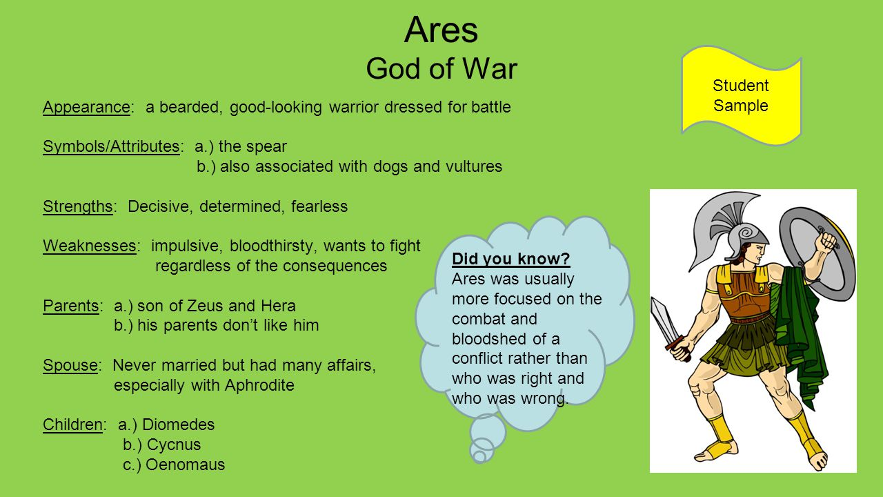 The Gods And Goddesses Of Greece Ppt Download