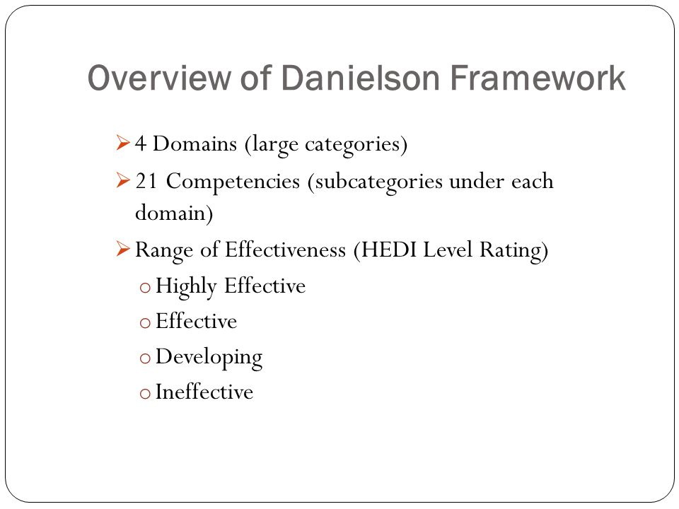 Pd Plan On The Danielson Framework Adsup 731 Kelli Mcdaniel May Ppt. Overview Of Danielson Framework. Worksheet. Diving Into Domain And Range Worksheet At Clickcart.co