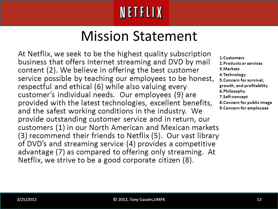 external analysis coinstar Netflix environmental scan /swot analysis by lisa bauman,  the second threat is strong competition from competitors such as coinstar and dish network .