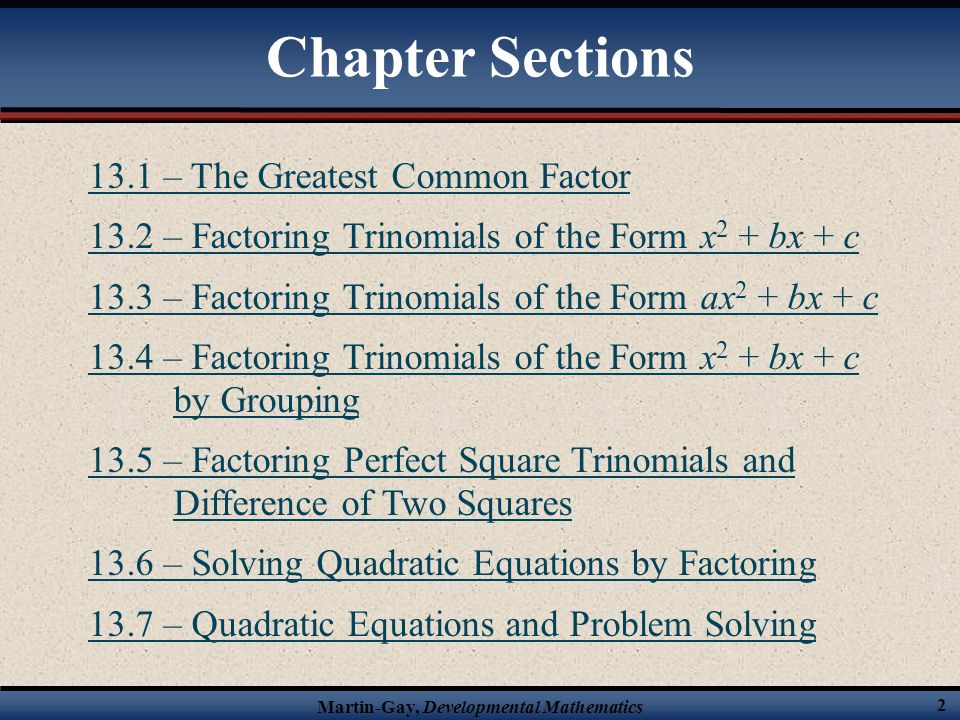 7-2 problem solving factoring by gcf