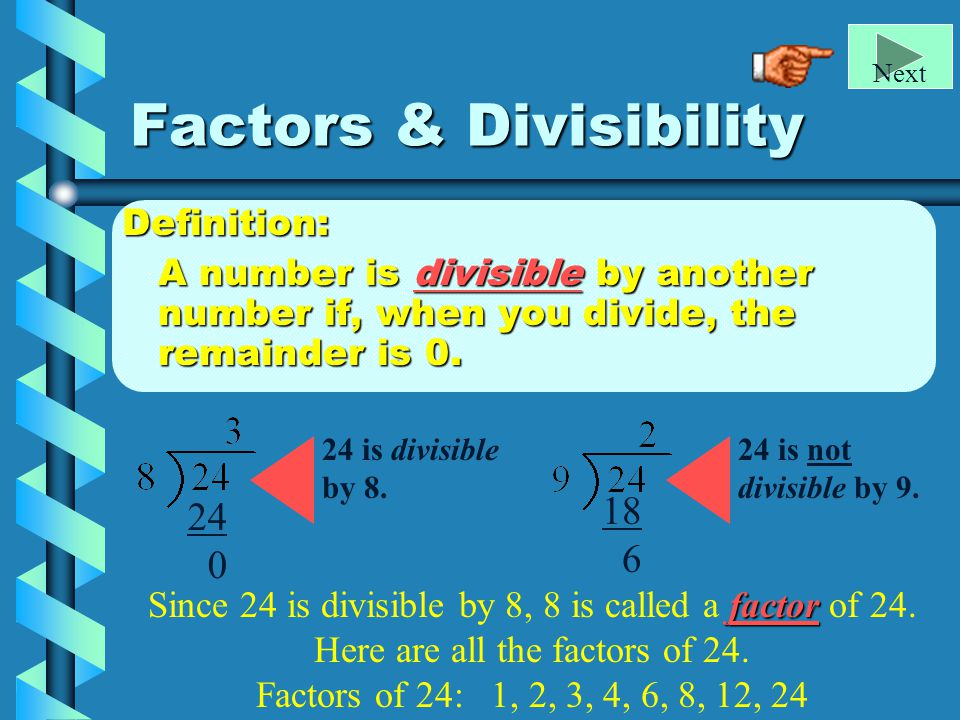 factors divisibility prime composite numbers ppt download