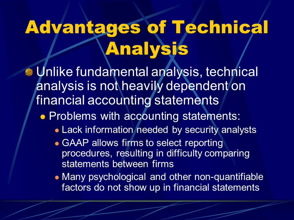 TECHNICAL ANALYSIS  - ppt video online download
