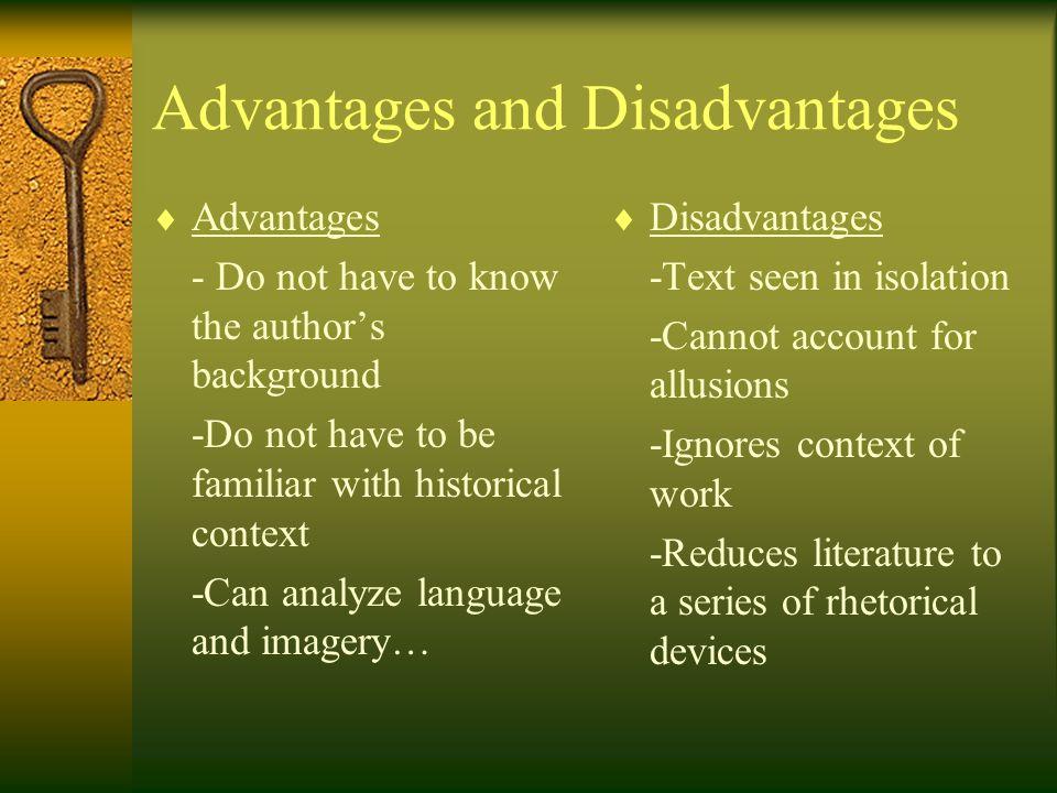 5 advantages of literature