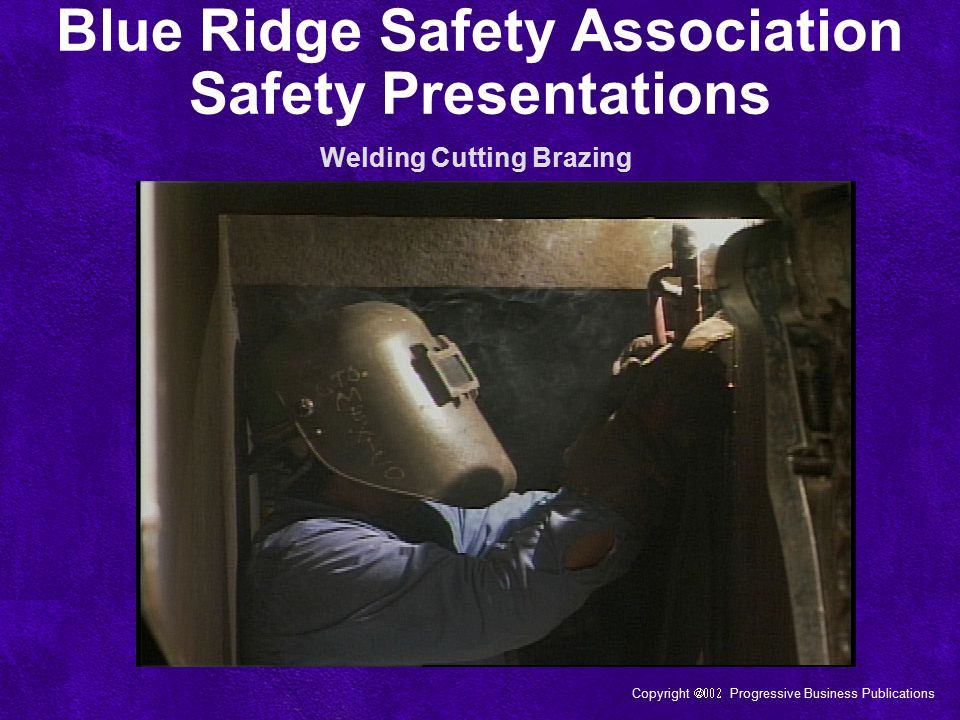 Blue Ridge Safety Association Safety Presentations