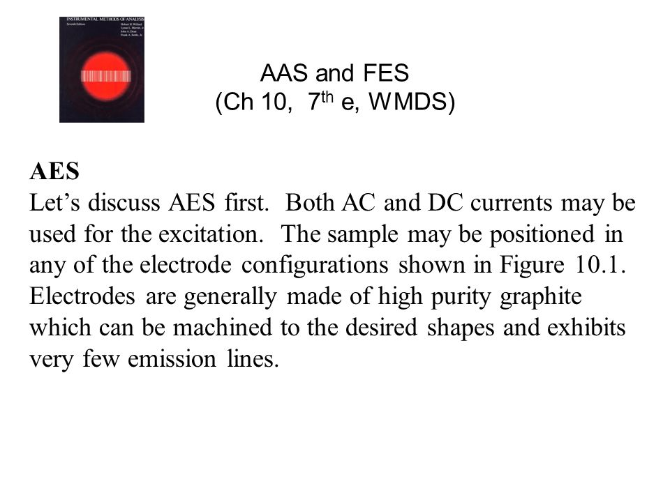 AAS and FES (Ch 10, 7th e, WMDS)