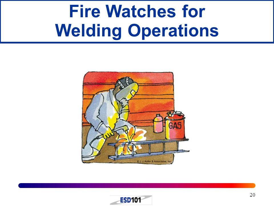 Fire Watches for Welding Operations