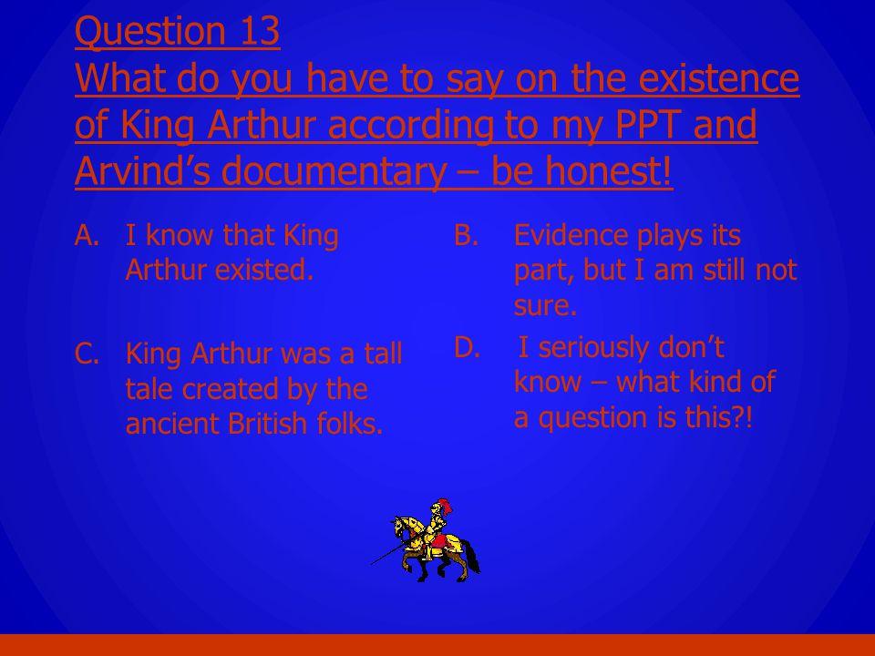 king arthur documentary