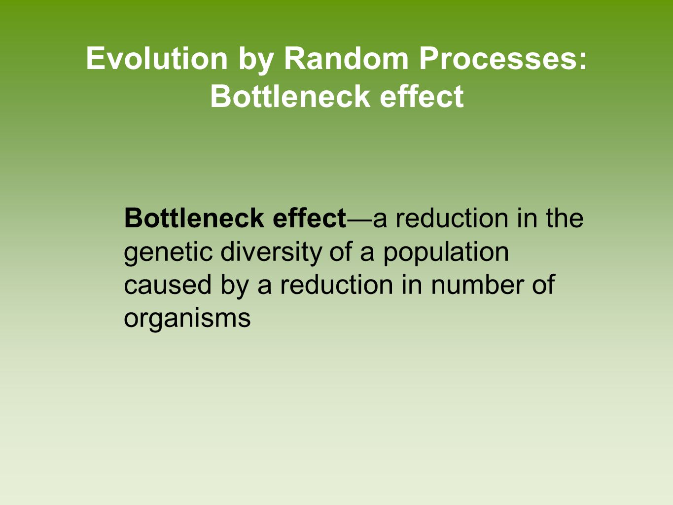 What Are Neutral Mutations Evolution Of Biodiversity Ppt Video Online Download