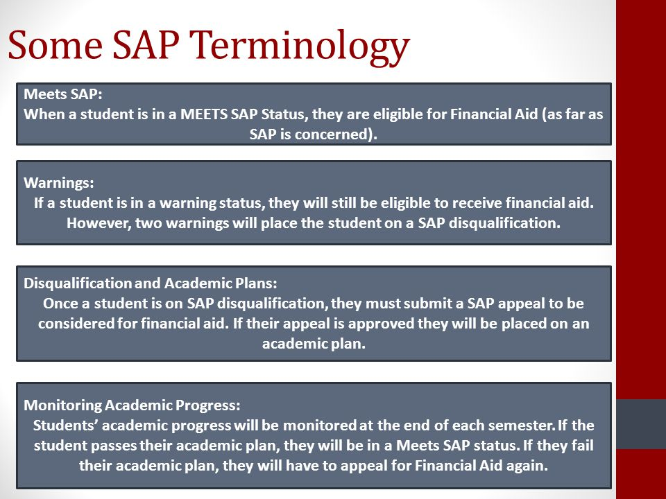 Some SAP Terminology Meets SAP: