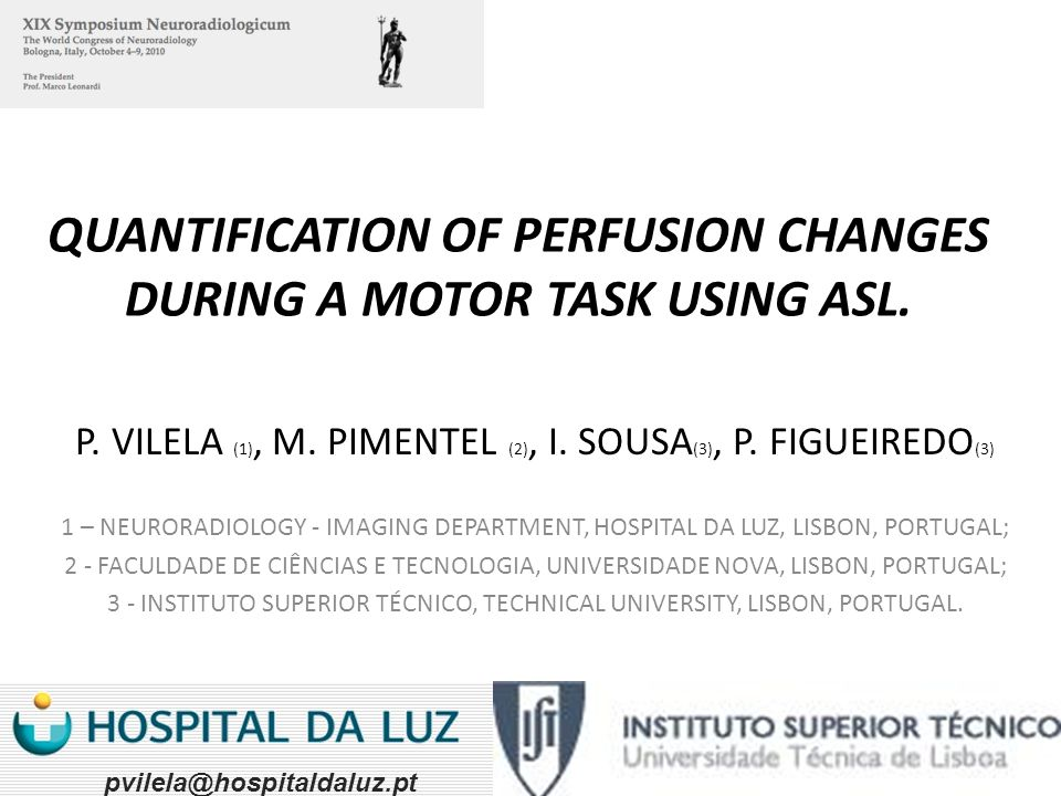 QUANTIFICATION OF PERFUSION CHANGES DURING A MOTOR TASK USING ASL.