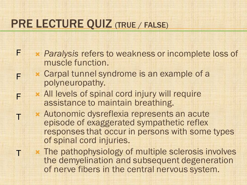 Chapter 36 Disorders of Neuromuscular Function - ppt video