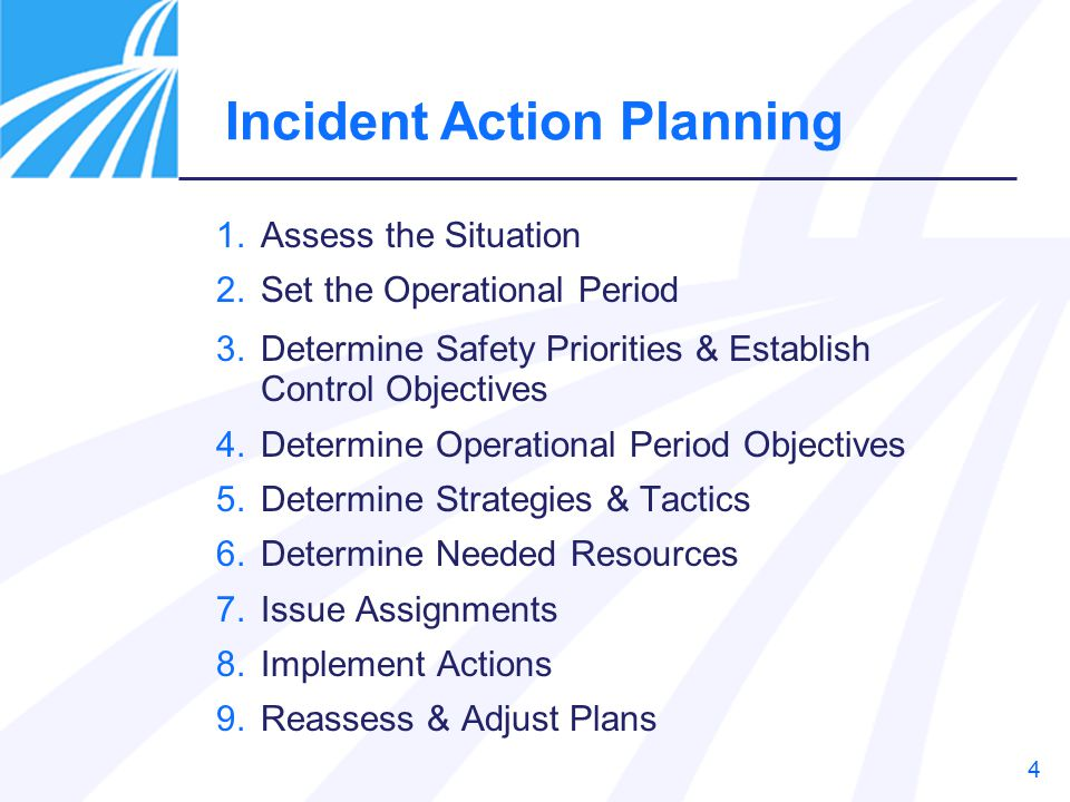 Application of Incident Action Plan & Forms: Chemical Attack - ppt ...