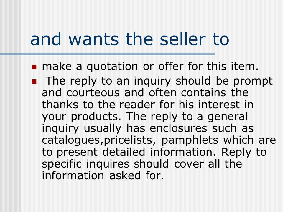 Chapter 7 enquiries an enquiryalso spelt inquiry letter asks for 2 and thecheapjerseys Images