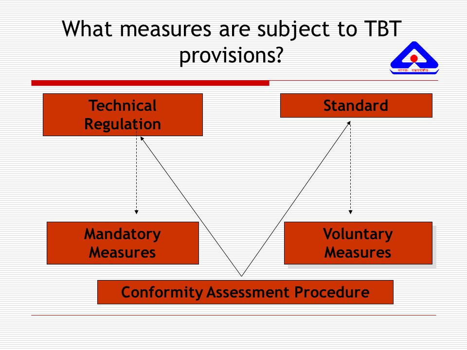 What measures are subject to TBT provisions