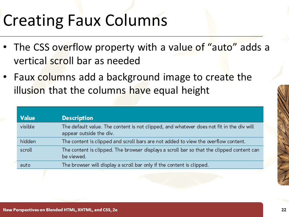 Tutorial 6 Creating Fixed-Width Layouts - ppt video online