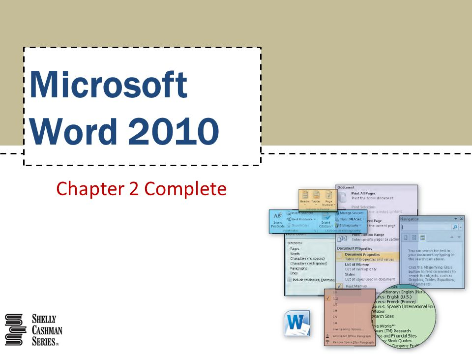 Microsoft Word 2010 Chapter 2 Complete
