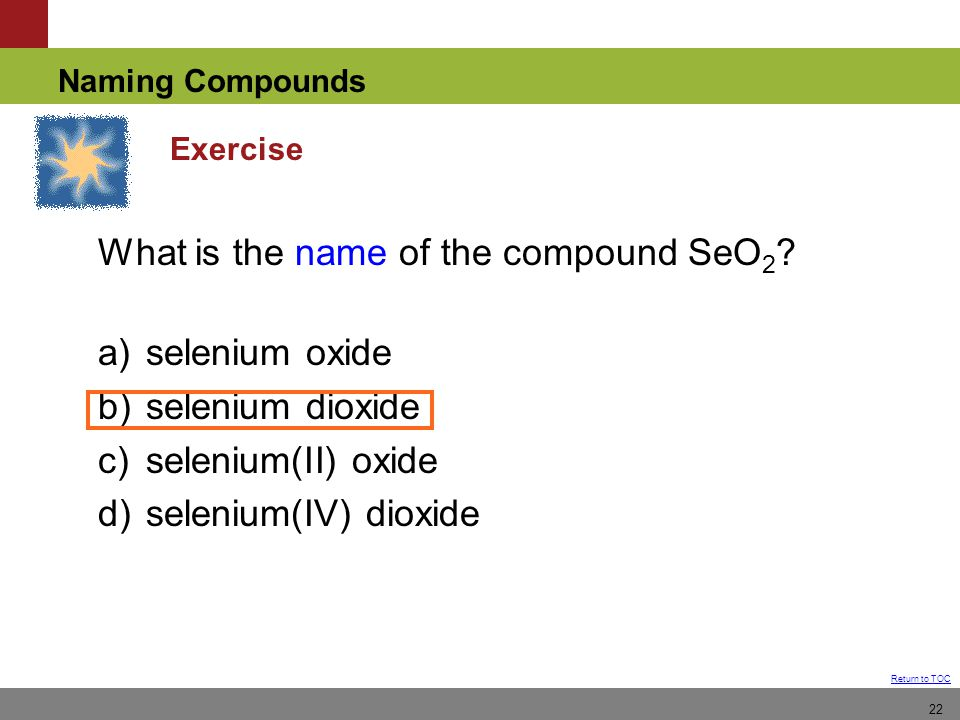 Chapter 4 Nomenclature How To Name Compounds From Formula Or Ppt