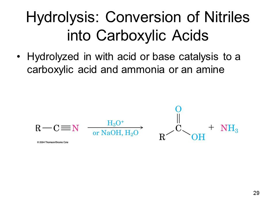 Chapter 20 Carboxylic Acids and Nitriles - ppt video online download