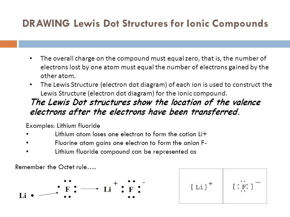 how to draw lewis dot structures for compounds