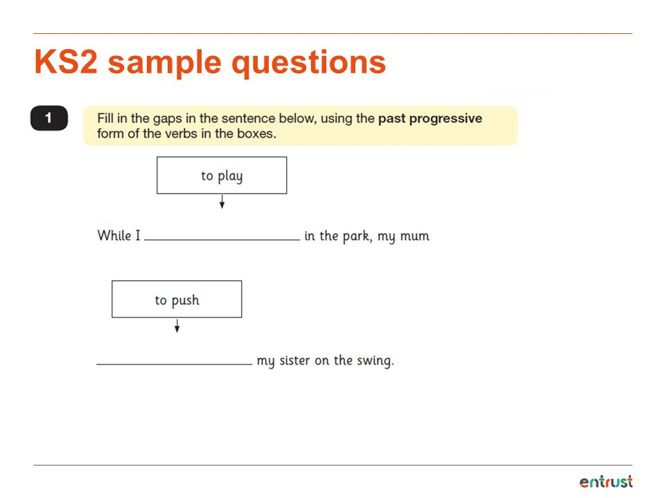 KS2 sample questions