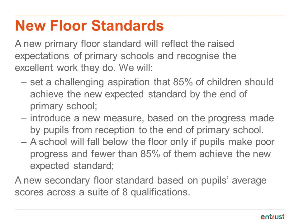 New Floor Standards