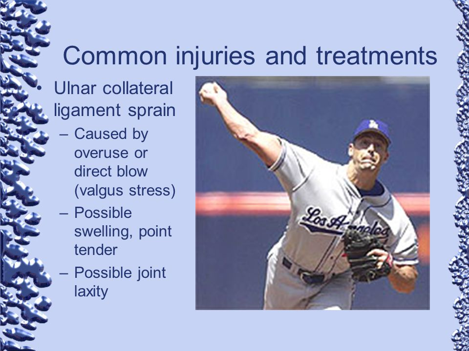 Common injuries and treatments