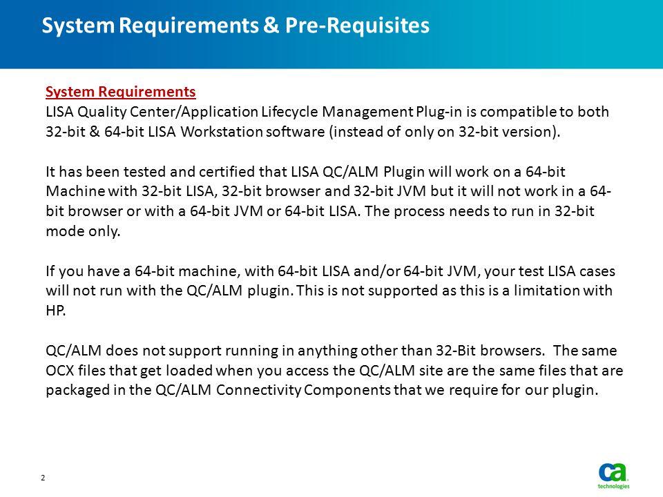 LISA QC/ALM Integration - ppt video online download