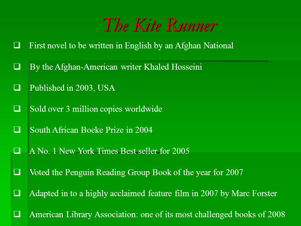 historical events in the kite runner