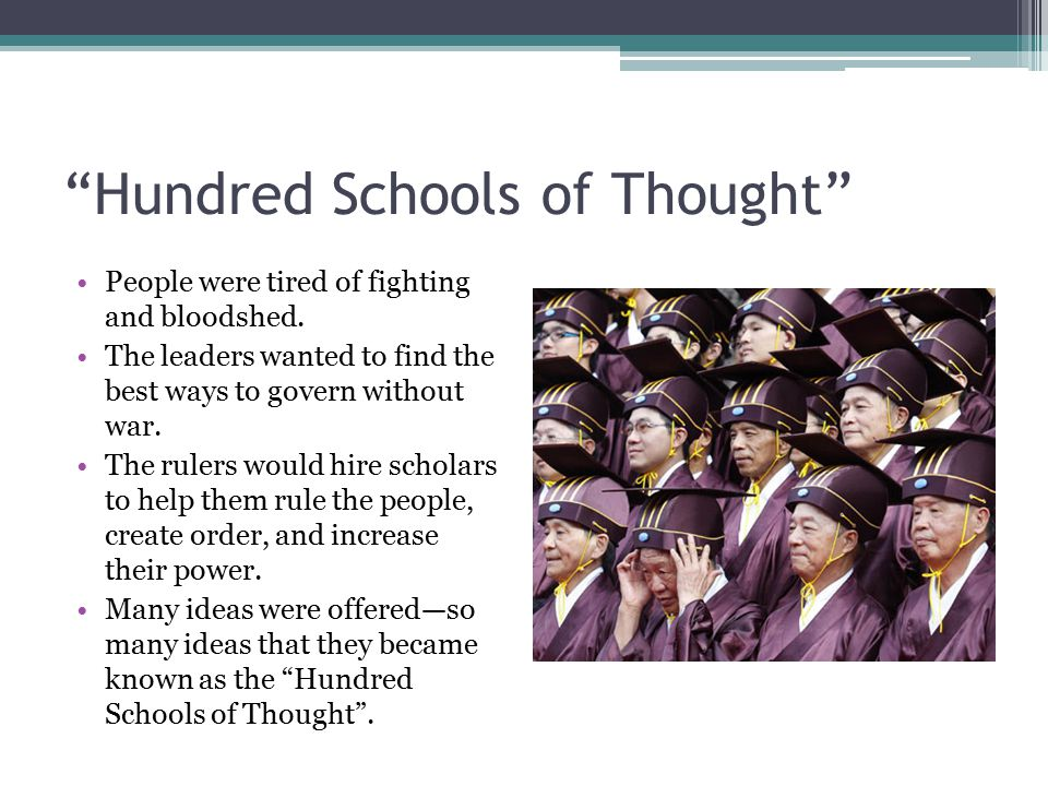 Hundred Schools of Thought
