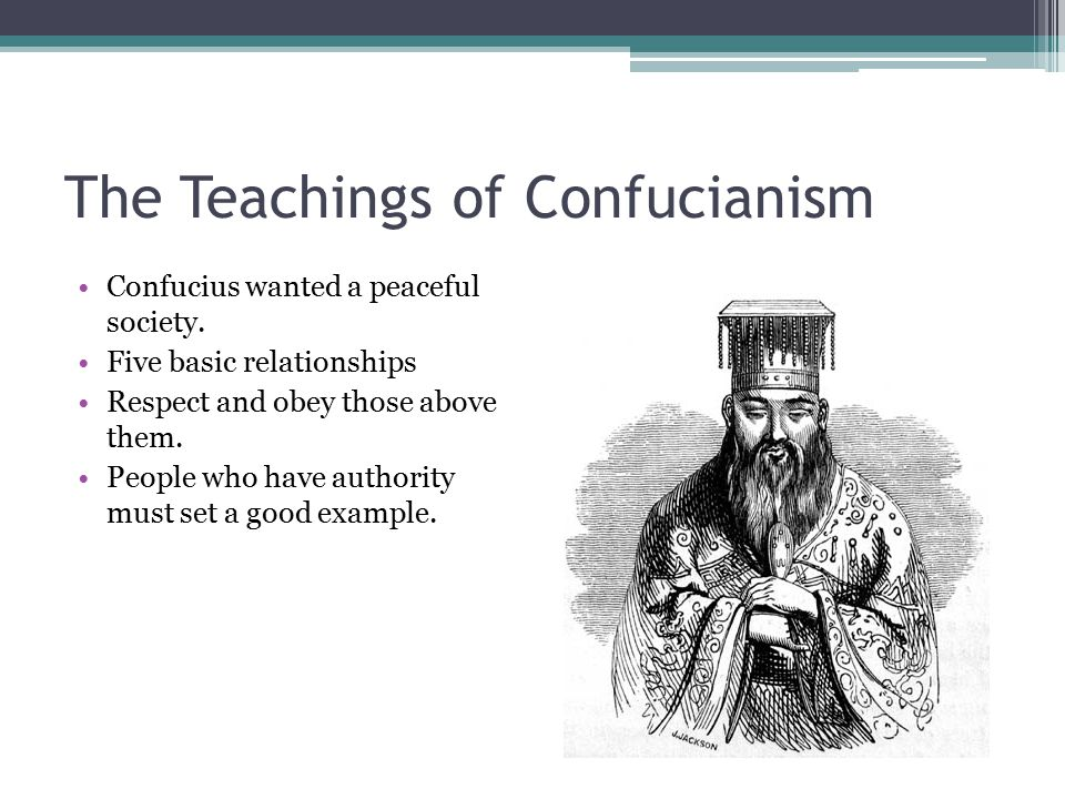 The Teachings of Confucianism