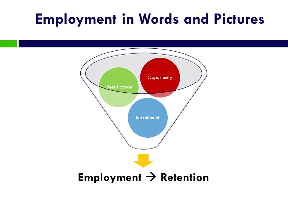 Employment in Words and Pictures