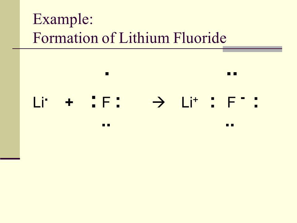 Electron Dot Diagram Lithium Fluoride Wiring Diagram