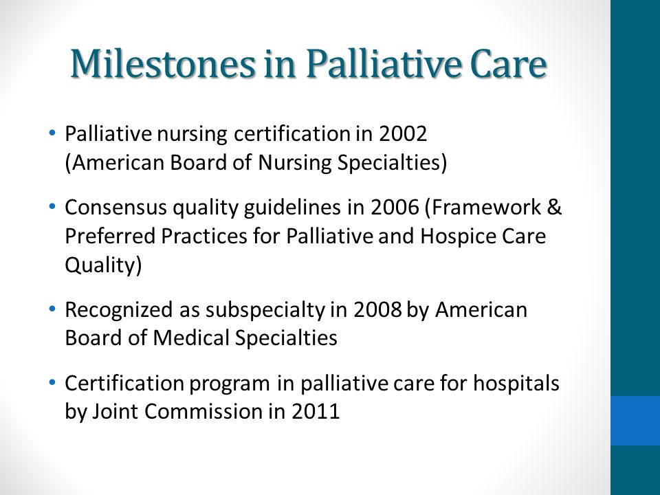 Community-Based Palliative Care: Need for New Models of Service ...