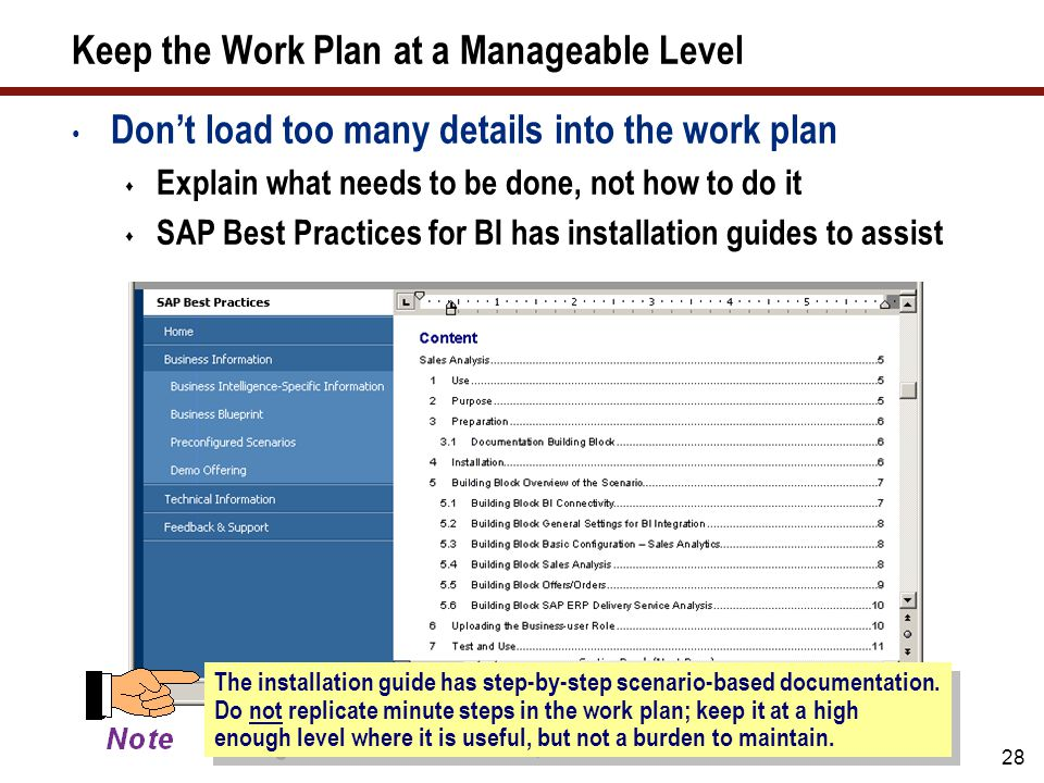What well cover selecting an approach to use for your project 29 what versions does it support sap netweaver bi 70 the sap best practices malvernweather Image collections