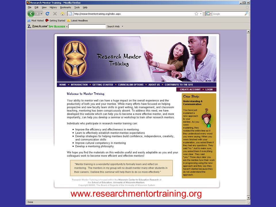 www.researchmentortraining.org