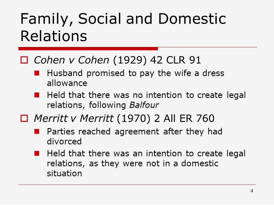 Intention To Create Legal Relations Ppt Video Online Download