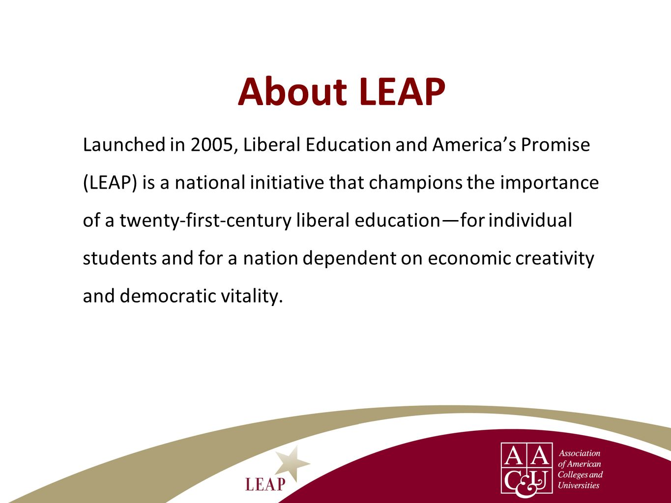 About LEAP