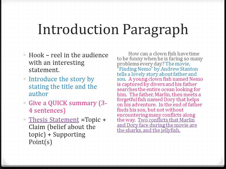 Narrative Essay Thesis Statement Examples  Critical Analysis Essay Example Paper also English Essay Samples Rikki Tikki Tavi Essay Abortion Essay Thesis