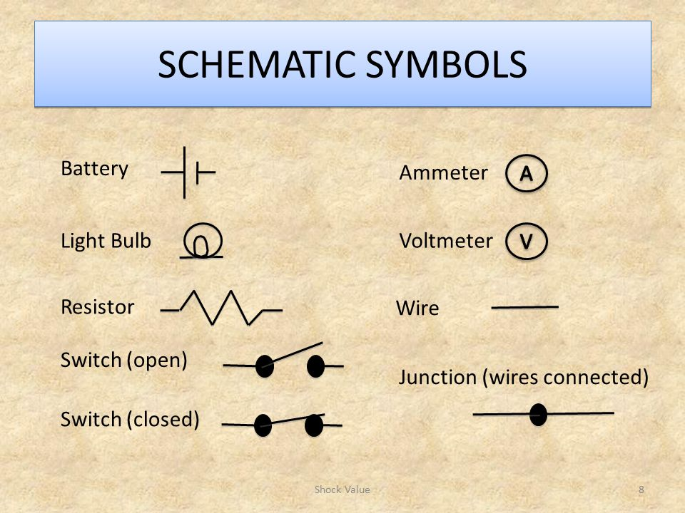 Schematic Symbol For A Light Bulb Block And Schematic Diagrams