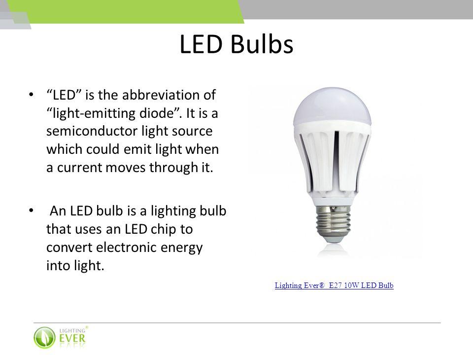 LED Bulbs vs. CFL Bulbs vs. Incandescent Bulbs - ppt video online ...
