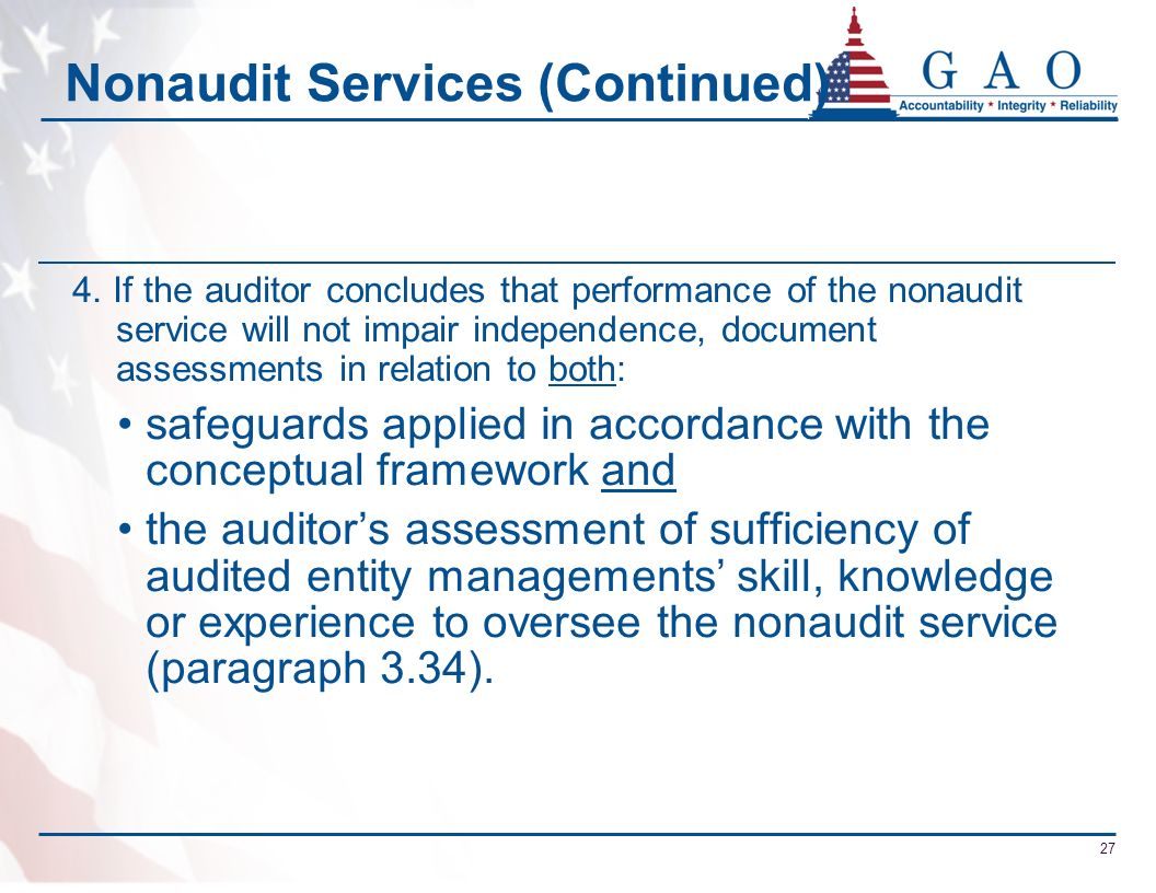 Nonaudit Services (Continued)