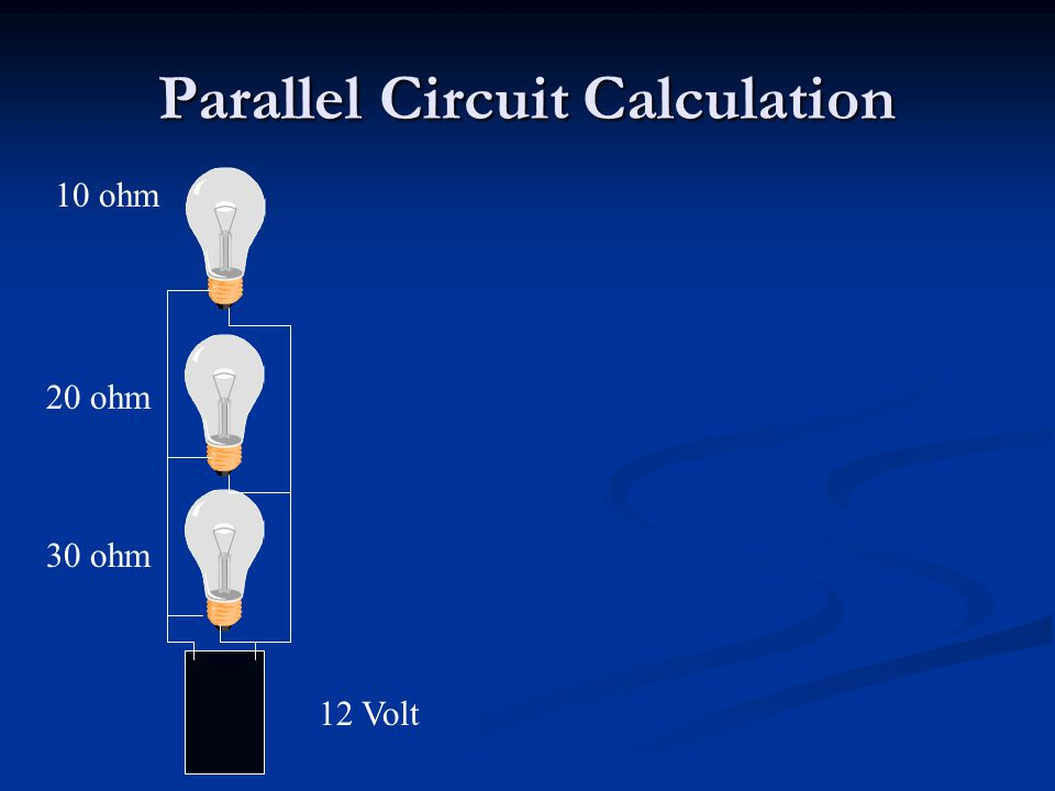 Parallel Circuit Calculation